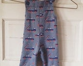 Baby boy vintage overalls size 12 months