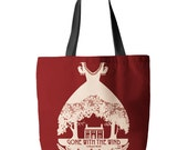 Gone with the Wind, Tote Bag, Printed in USA