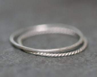 Ultra Thin Ring in Silver