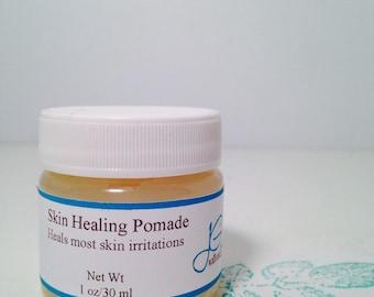 Natural Skin Healing Pomade Eczema Psoriasis, Extreme dry skin healer