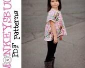 Boho Beauty Swing Top PDF eBook Pattern