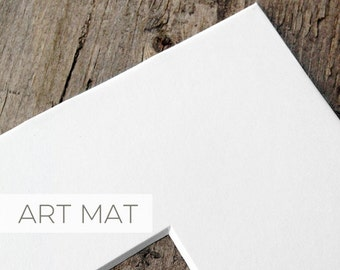 ADD: a White Mat to any size print