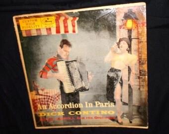 Dick Contino Accordion in Paris Record