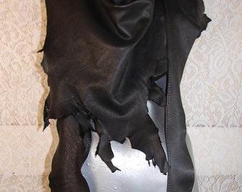 Deerskin Wrap Scarf COMICON Renaissance Sarong Gladiator Drape Primitive Skirt Pirate LARP Handmade by Debbie Leather