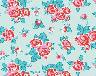 "SALE! Penny Rose Fabrics ""Milk, Sugar & Flower""collection -Blue (Riley Blake)"