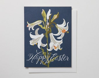 Happy Easter Lily Notecard