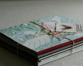 Assorted Christmas Cards, Letterpress