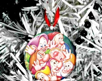 Snow White and the Seven Dwarfs Christmas Tree Ornament