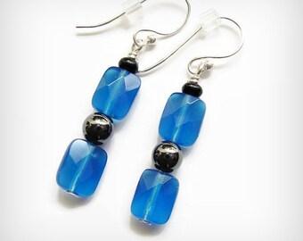 Sarahbushka's Little Bits o' Blue Plain Jayne  Blue Quartz Stone