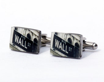 CUFF LINKS - Wall Street