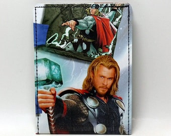 Sewn Comic Book Wallet - Thor Design 8