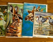 Any Four Blank Greetings Cards (your choice) from Original Mosaics
