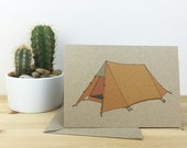 Tent card no.1 (100% recycled)