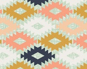 Boho Fabric, Arizona Fabric, Tribal Fabric,  Limited Edition fabric by April Rhodes for Art Gallery Fabric- Agave Field- You Choose the Cut
