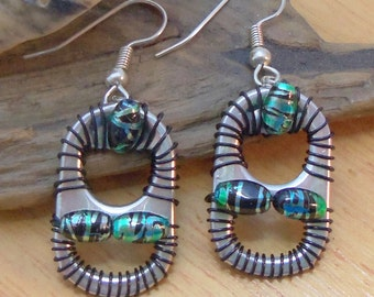 Ann-Made Pop Top Earrings - Tamarind