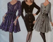 Misses' Dress New Look 6935 Pattern, Size 6 to 16, Uncut