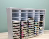 """60 Ink Pad / Marker Combo Organizer (up to 4"""" wide pads) RESERVED for Cyndy B"""