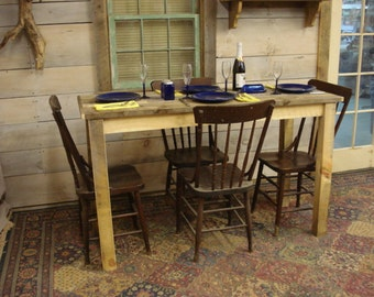 "Farmhouse Counter Height Table (60"" x 24"" x 36""H)"