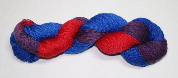 Donna Noble Hand Dyed Sock Yarn