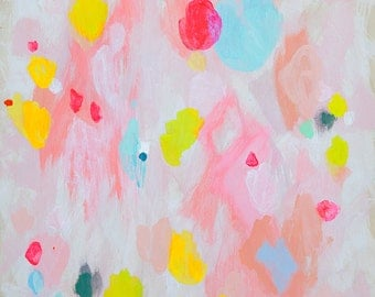abstract fine art print . bloom . a4 - large format, five sizes . free shipping within australia