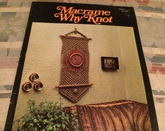Macrame Why Knot Instructional Booklet