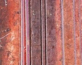 Industrial Art Print Photo image with textured filter of rusty metal siding digital file