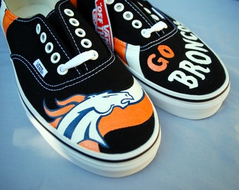 Custom Painted Sports Team Shoes
