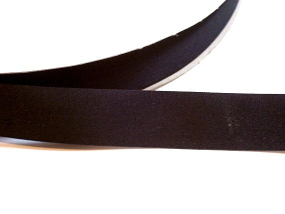 Nylon Knitting Ribbon : Black ribbon grosgrain inch wide