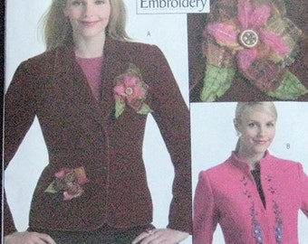 Butterick Jacket Pattern B4866 Plus Size