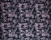 """SATIN CHARMEUSE / 100% polyester fabric / 58"""" wide / Toile print"""