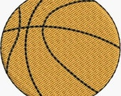 Mini Basketball embroidery designs 4 sizes