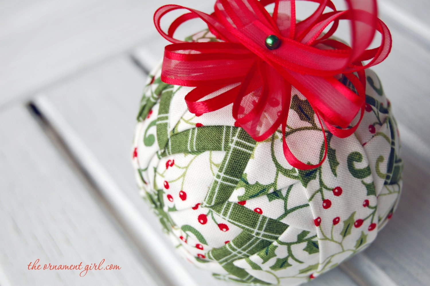 TUTORIAL Make perfect quilted ball ornaments Complete