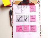 Rotating Goal Chart PRINTABLE PDF, Goal Planner, Goal Tracker, Goal Setting, Digital Download