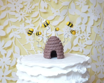 Beehive Cake Topper Ready to ship