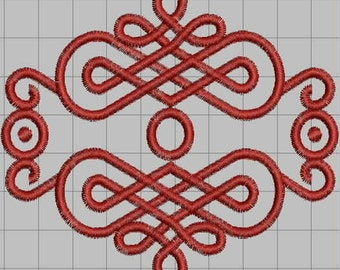Celtic Passion Embroidery Design (single)