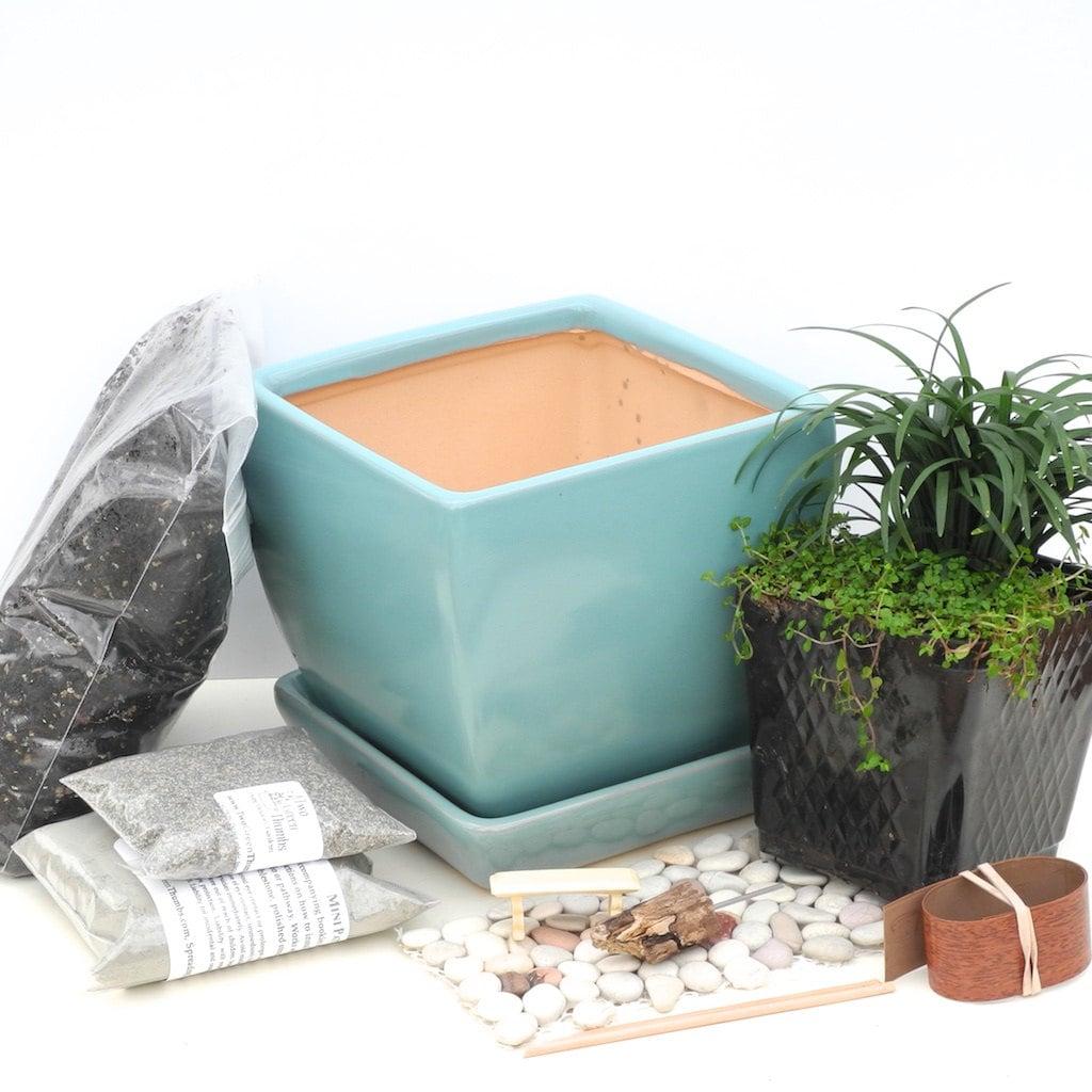 Indoor Miniature Garden Kit For Fairy Garden For Desk With