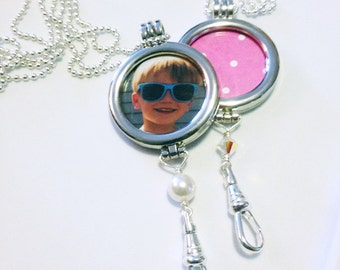 Picture Lanyard Necklace