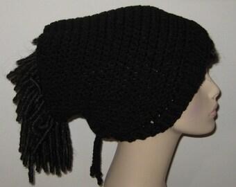 Dread Sock Tam Dread Tube in Black
