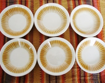 vintage paul mccobb dishes midcentury radiate pattern berry bowl jackson china