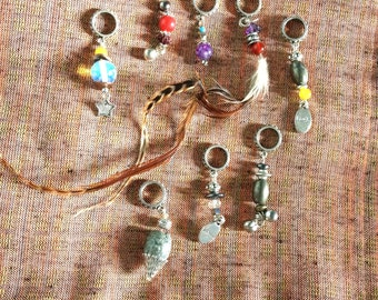 Dreadlock Hair Jewels - Unique OOAK