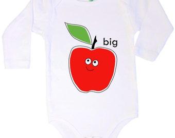 Big Apple longsleeve cotton onesie