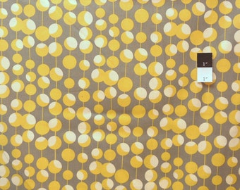 Amy Butler AB26 Midwest Modern Martini Mustard Cotton Fabric 1 Yard