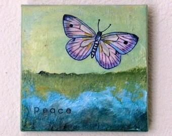 peace -  mixed media art by tremundo