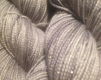 Silver City -- Huggybear Knits Hollywood Gold-- Fingering Weight