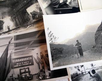 Vintage Photographs of Communist China (70 pcs)