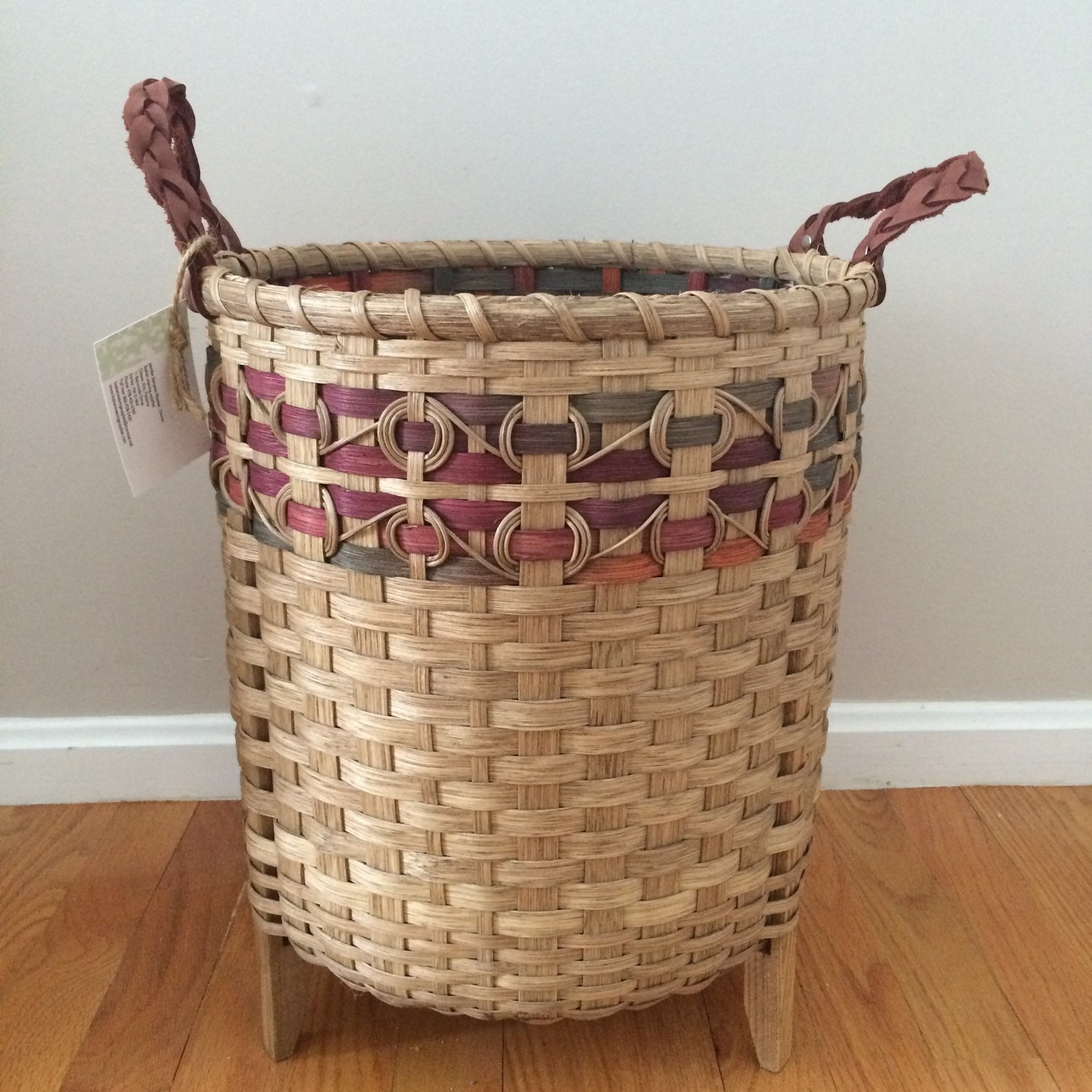 Knitting Basket Yarn : Yarn basket knitting crochet storage