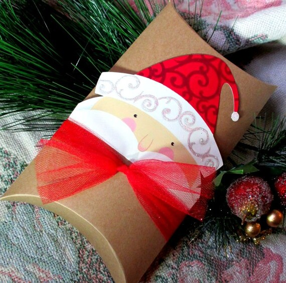 Large christmas pillow boxes gift by