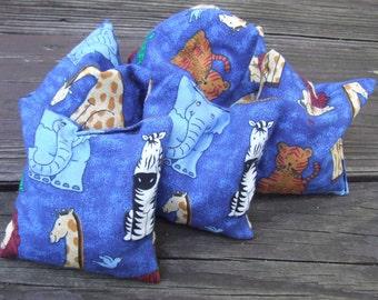 Set of 6 Bean Bags - Animals