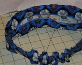 Travel Head Hand Blue with Star Fish and Sand Dollars Custom order for Jarissa