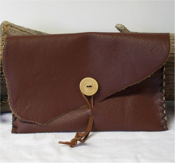 leather belt bag pouch possible reenactor by